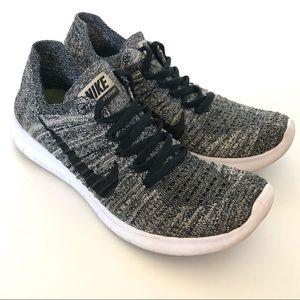 Nike Free Flyknit Grey Shoes